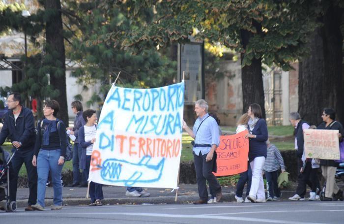 Una manifestazione di protesta del 2011