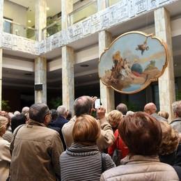Il genio di Tiepolo strega Bergamo Affluenza record, giovedì parla Villa