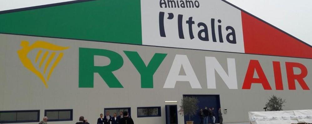 Nuovo hangar e centro tecnologico Orio, Ryanair investe 32,5 milioni - Video
