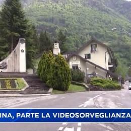 Val Serina, entrano in funzione le telecamere