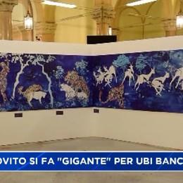 Andrea Matrovito si fa gigante per Ubi Banca