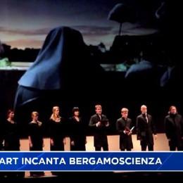 BergamoScienza, avvio scenografico con il coro di Arvo Part