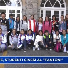 Clusone, 17 studenti cinesi al «Fantoni»