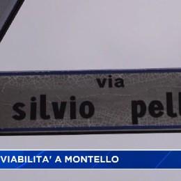 Montello, nuova viabilità con polemiche