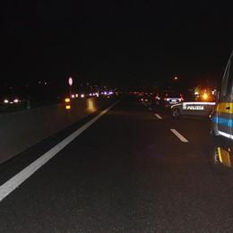 Incidente sull'autostrada A4, un ferito 4 km di coda tra Dalmine e Bergamo