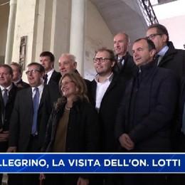San Pellegrino Terme, la visita del sottosegretario Lotti