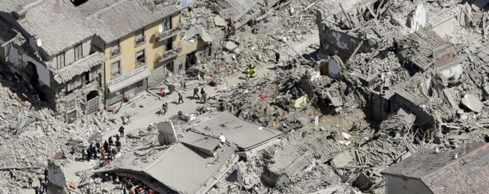 Terremoto, le donazioni dei bergamaschi a trenta comunità vicine ad Amatrice