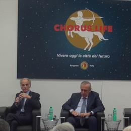 Chorus Life, la Bergamo del futuro «Palazzetto, 100 alloggi e parco»