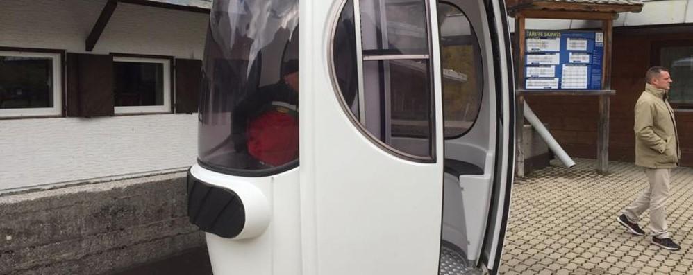 Foppolo, ecco la prima cabinovia Sarà pronta per Natale -foto