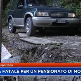 Pensionato di Mozzo cade dalla bicicletta e muore sul Monte Canto