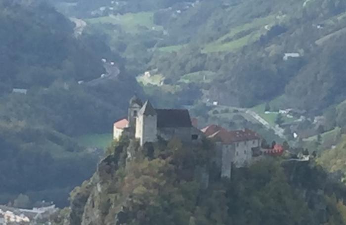 Il convento di Sabiona, sopra Chiusa