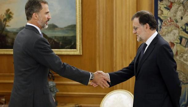 Spagna: Rajoy incaricato per governo