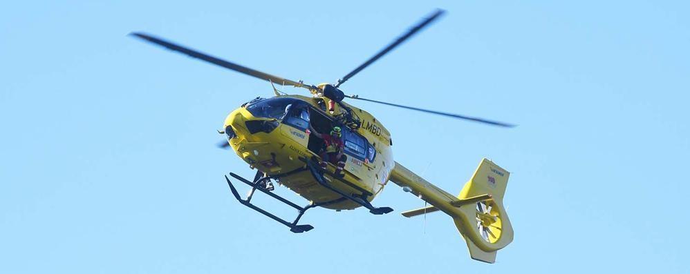 Tamponamento a Cisano, ragazzo grave Trasportato in elisoccorso all'ospedale
