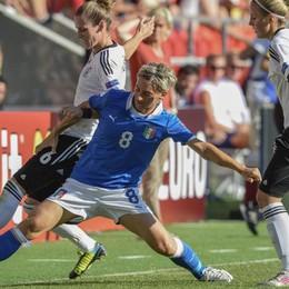 C'è una Gabbiadini che può esultare Melania entra nella Hall of fame del calcio