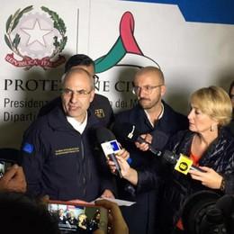 Protezione civile lombarda già operativa «Terremoto, pronti a dare il nostro aiuto»