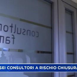 Salvi i sei consultori bergamaschi   Erano a rischio chiusura