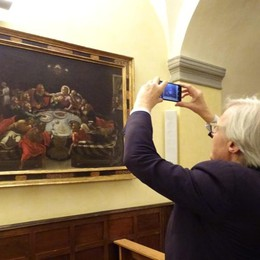 Sgarbi loda Ardesio - Foto e Video «Patrimonio artistico invidiabile»