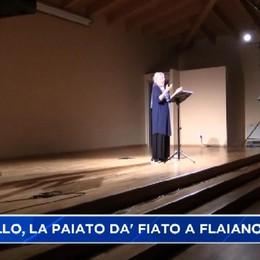 Montello, Maria Paiato dà fiato ai personaggi di Flaiano