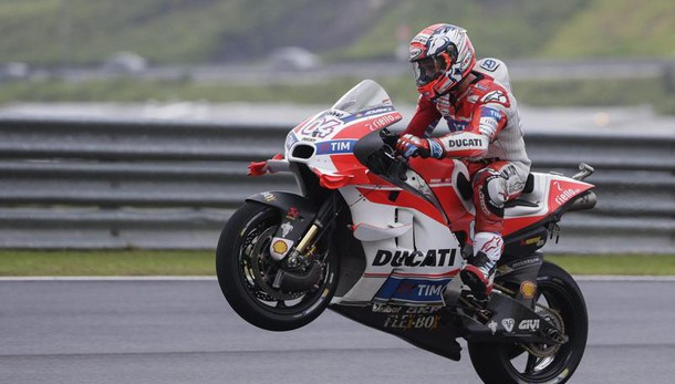 Gp Malesia: vince Dovizioso, Rossi 2/o