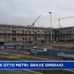 Azzano: operaio cade da otto metri.