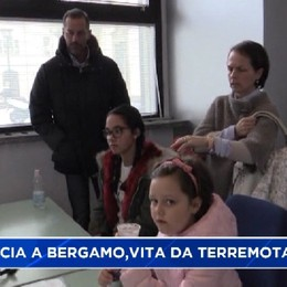 Da Norcia a Bergamo, vita da terremotati