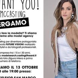 Alla ricerca di nuovi volti per la moda Marie Claire fa tappa a Bergamo