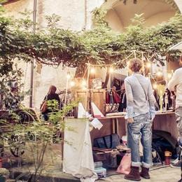 Mercanti in Viaggio al Castello Quistini Vintage, food e il mondo dei bambini