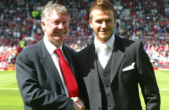 Alex Ferguson e David Beckham quando si volevano bene...