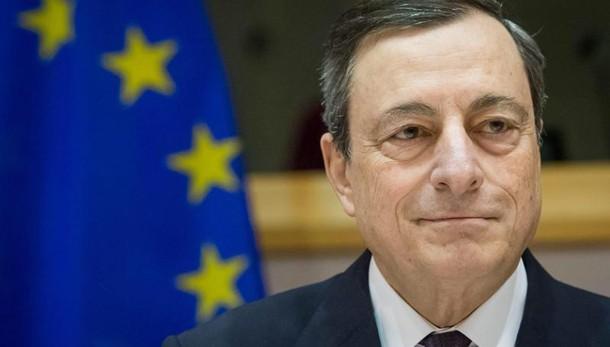 Draghi, Qe anche oltre marzo se serve