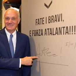 Atalanta, intervista a Percassi «Gasperini, i giovani e il futuro»