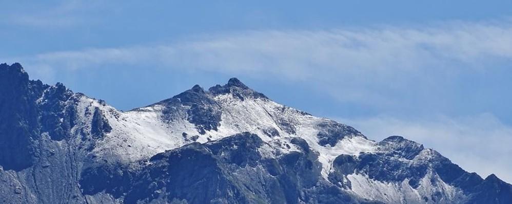 Meteo, l'autunno è entrato nel vivo Primi fiocchi di neve sulle Alpi