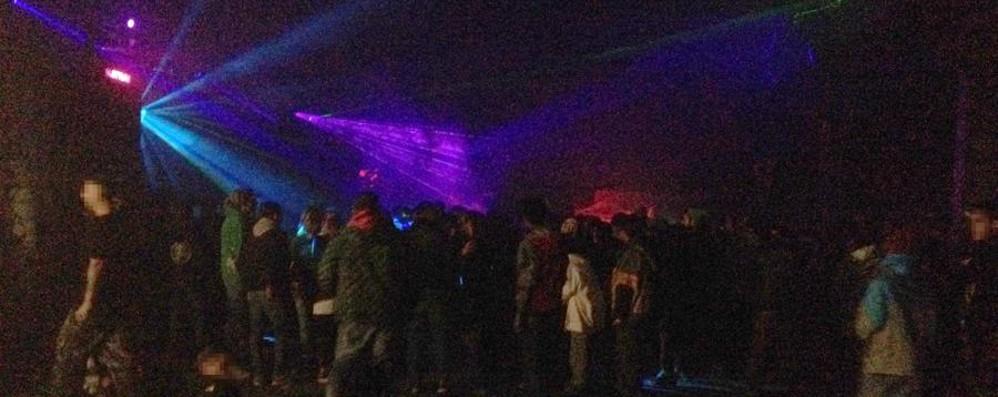 Rave party, arrivano i carabinieri A Zingonia 200 giovani fino al mattino