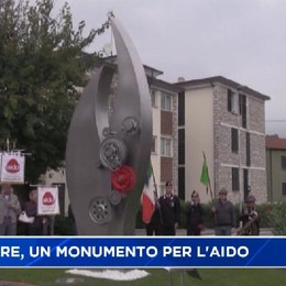 Trescore Balneario, un monumento per i 40 anni dell'Aido