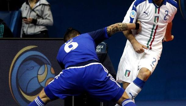 Calcio a 5: Italia-Romania 3-1