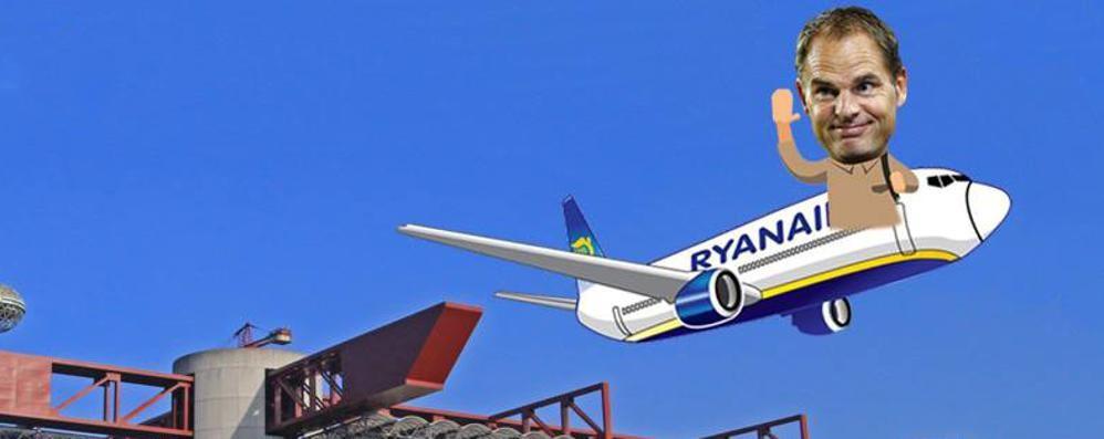 «Tempo di tornare in Olanda» Ryanair ironizza sull'esonero di De Boer