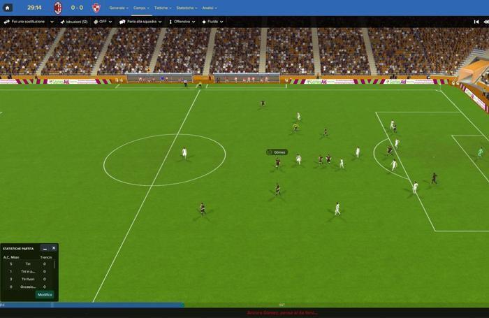 Football Manager 2017, immagini di gioco