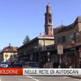 Torre Boldone, 800 nelle rete di Autoscan