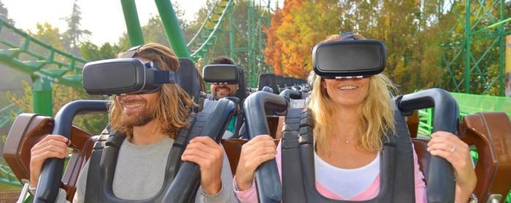 Realtà virtuale più montagne russe La nuova sfida di Gardaland - Video