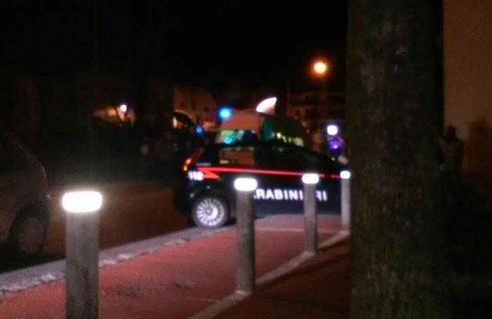 I soccorsi sul provinciale di Olmo al Brembo subito dopo l'incidente