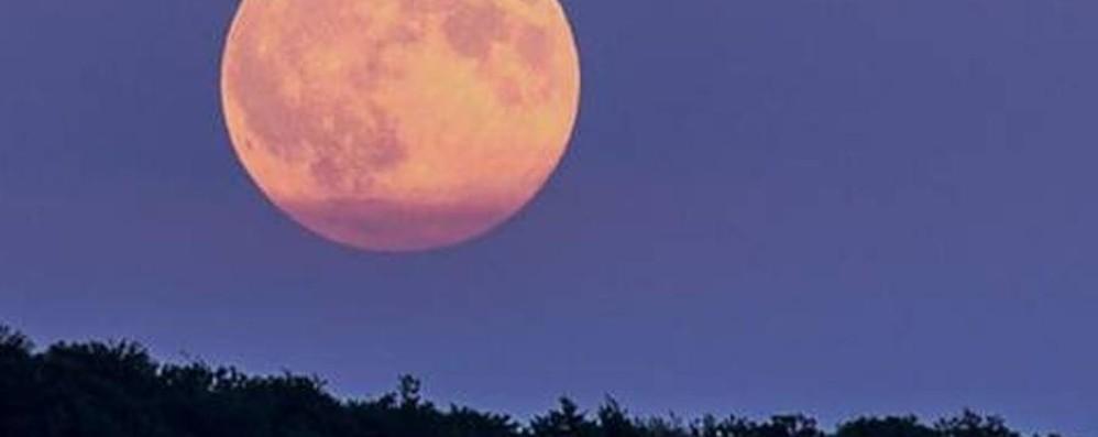 Lunedì tutti con il naso all'insù C'è la Super Luna ad aspettarci
