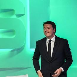 Matteo Renzi oggi a Bergamo Alle 16 avanti con la campagna del «sì»