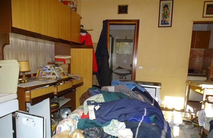 L'interno dell'abitazione