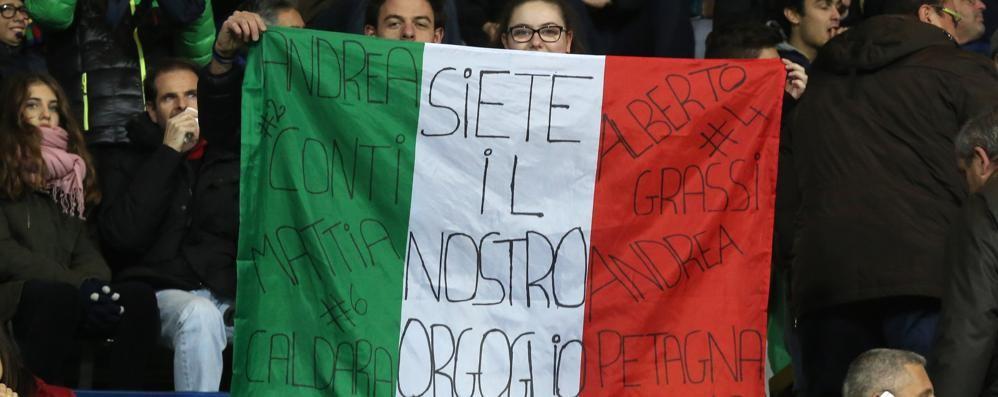 Under 21: l'Italia non vince, Bergamo sì Tantissimi bambini per i nerAzzurrini