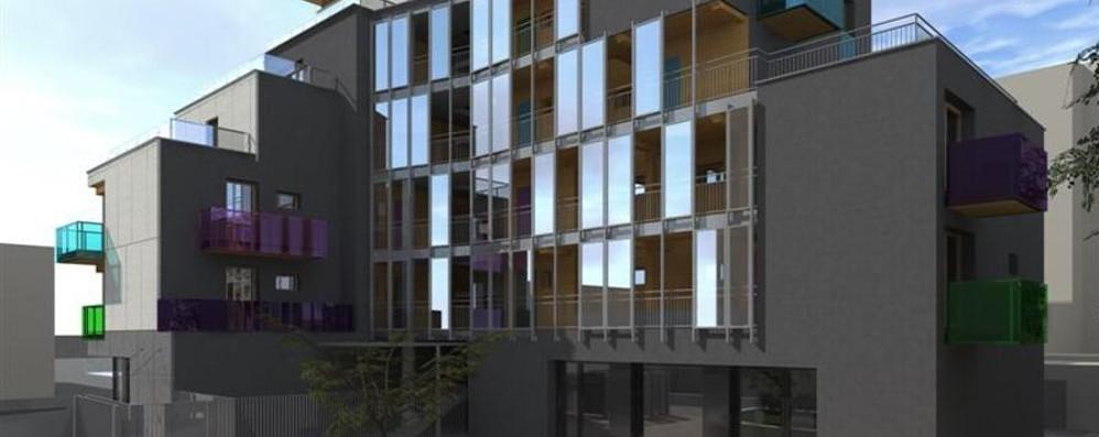 23 appartamenti in via Mai 30 - le foto Un progetto sociale all'ex benzinaio