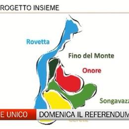 Domenica Alta Val Seriana al voto per il Comune Unico