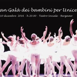 Gran Galà per l'Unicef al Sociale A dicembre  200 bimbi sul palco