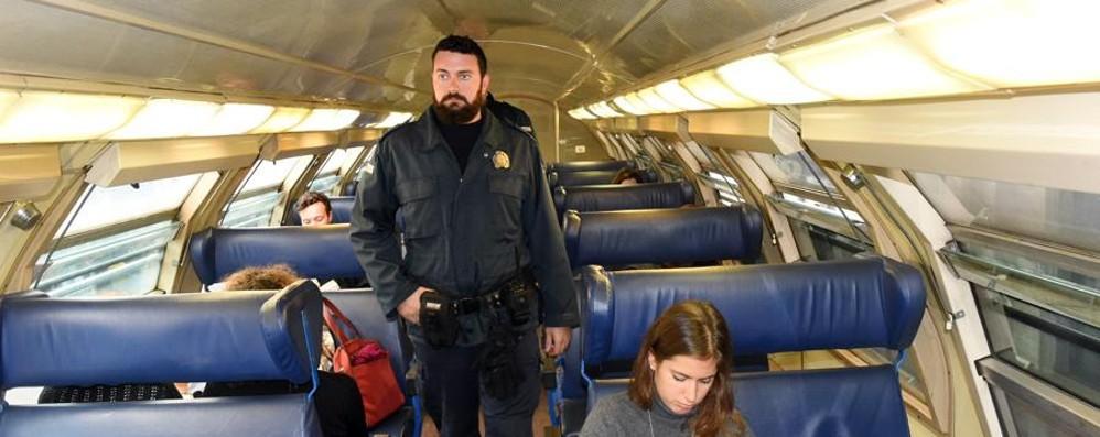 Ancora controlli a raffica sui treni - Video Mercoledì 488 persone senza biglietto