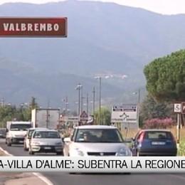Paladina-Villa d'Almè: subentra la Regione