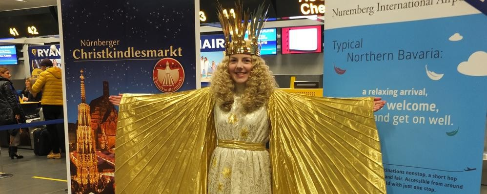 Ryanair, voli scontati per Norimberga E a Orio arriva l'angelo di Natale