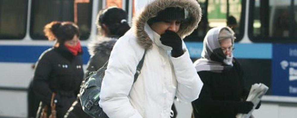 Torna il maltempo, neve sulle Alpi E a Bergamo il freddo si fa sentire